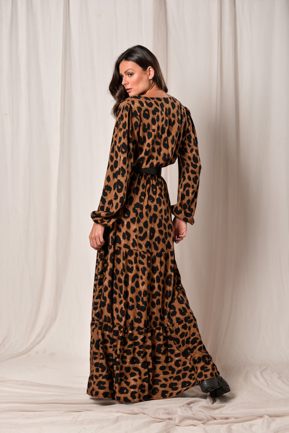 Vestido Animal Print Judite