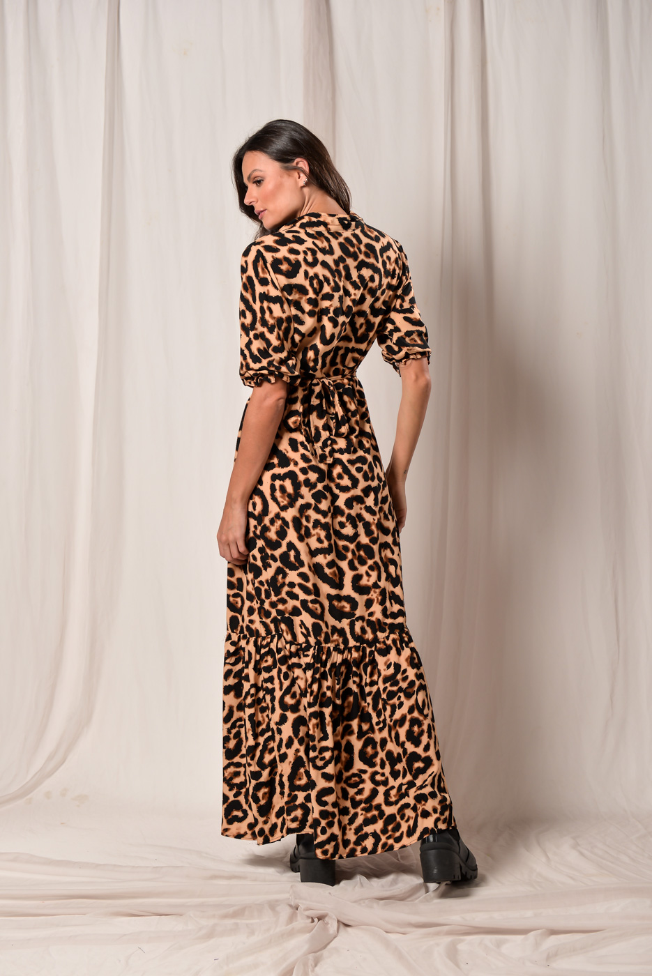 Vestido Animal Print Julieta