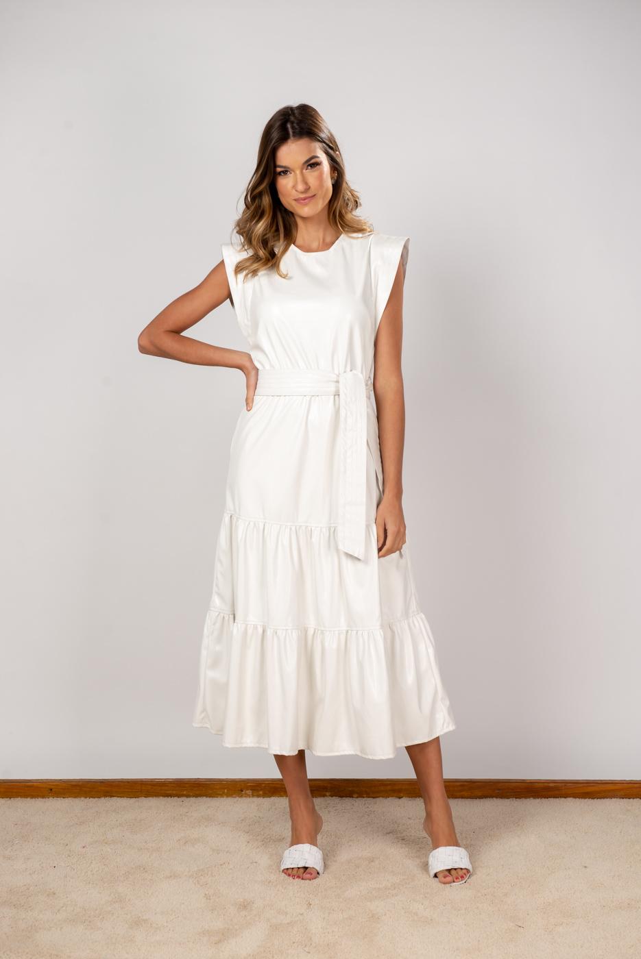 Vestido de Couro Eco Tainá