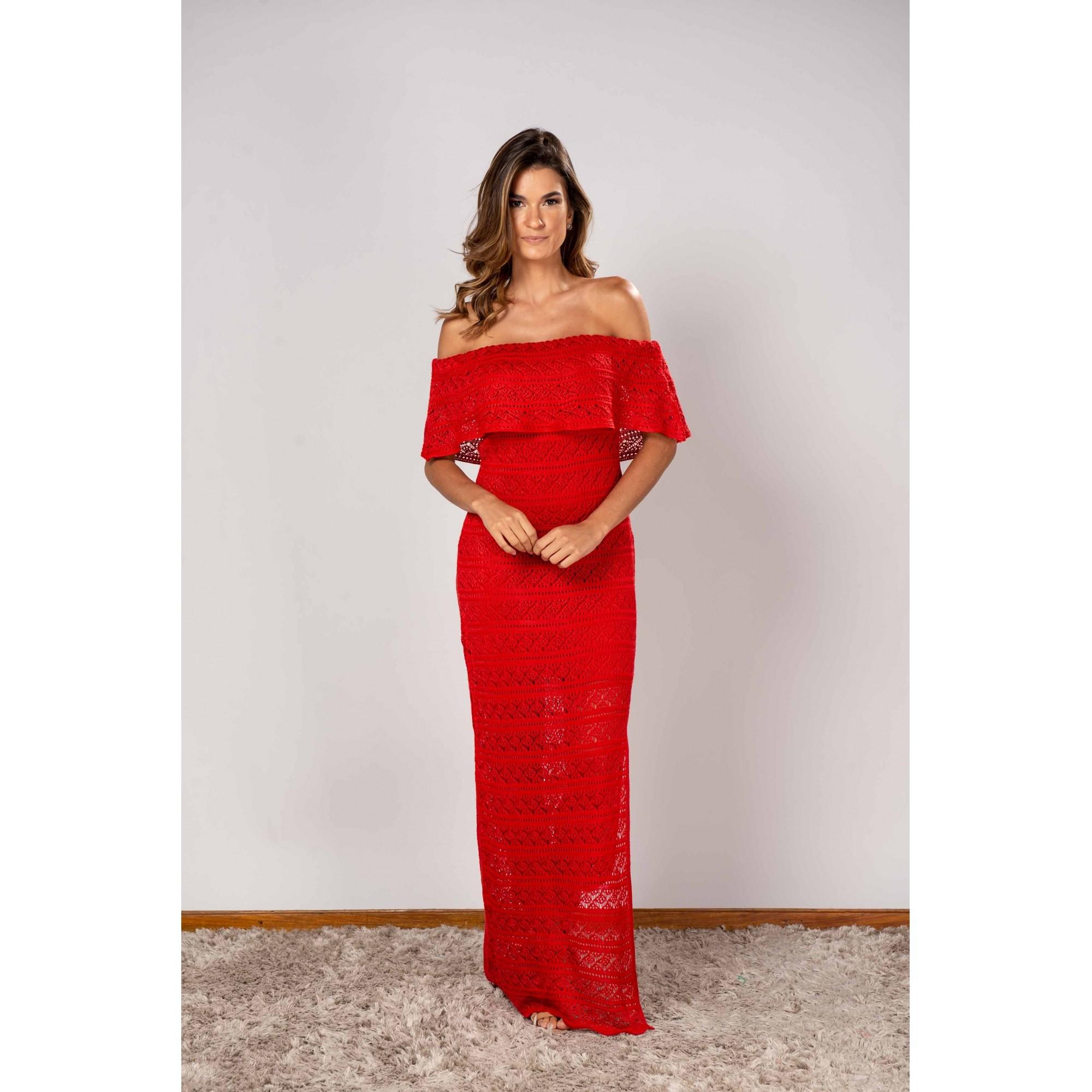 Vestido Elma Vermelho