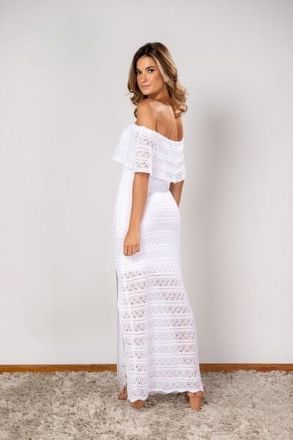 Vestido Elma Off whitte