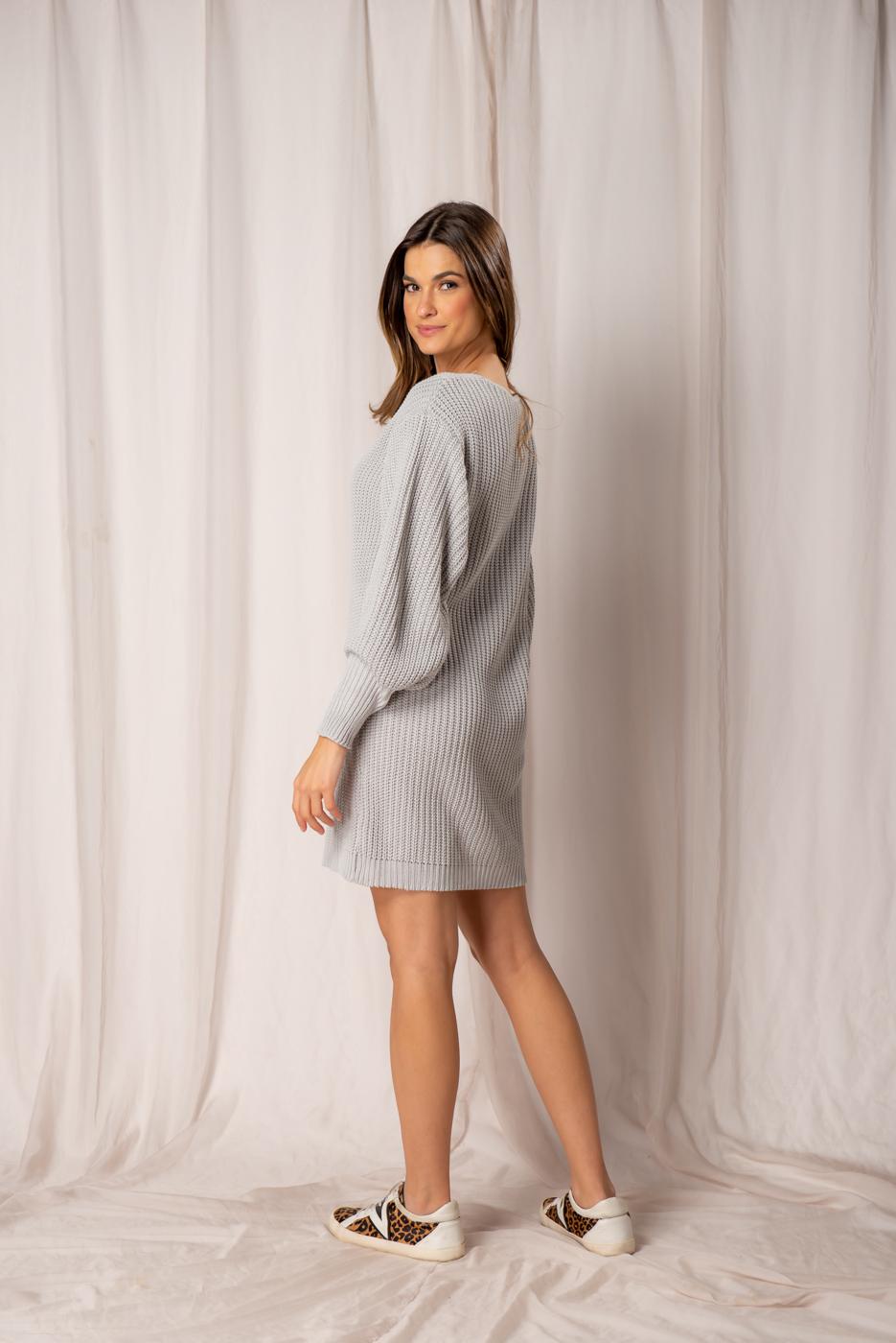 Vestido em Tricot Alexandra