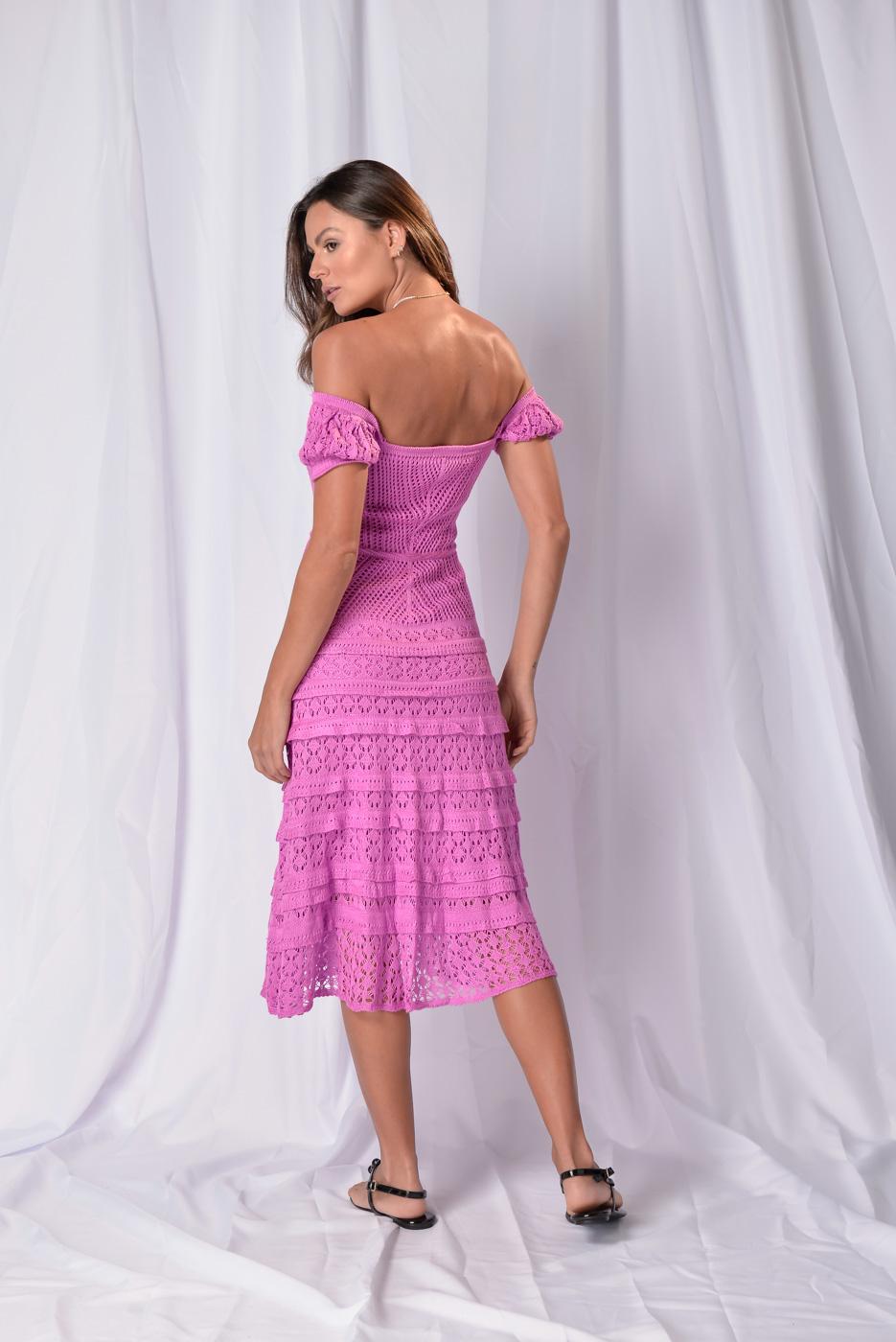 Vestido em Tricot Andressa