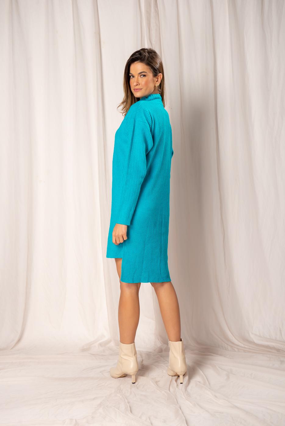 Vestido em Tricot Tamara