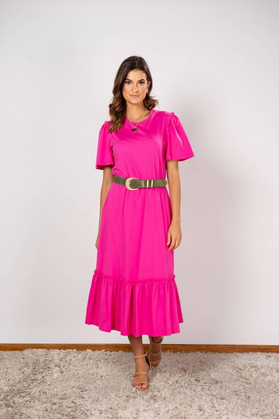 Vestido Giovana Pink