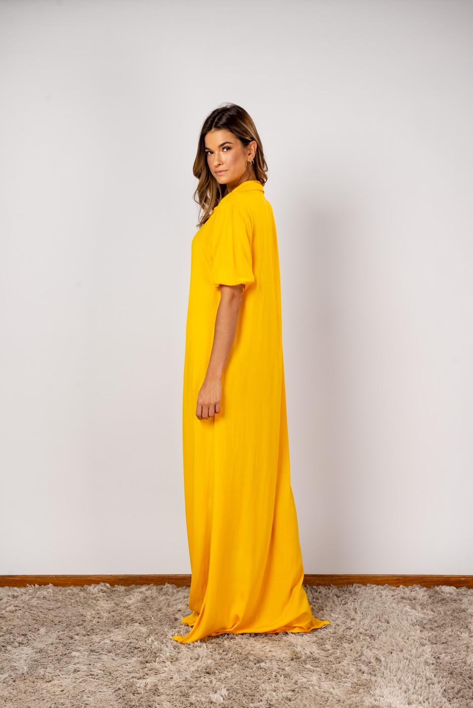 Vestido Isabela Amarelo