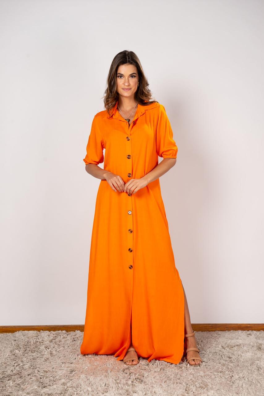 Vestido Isabela Coral