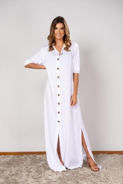 Vestido Isabela Off white