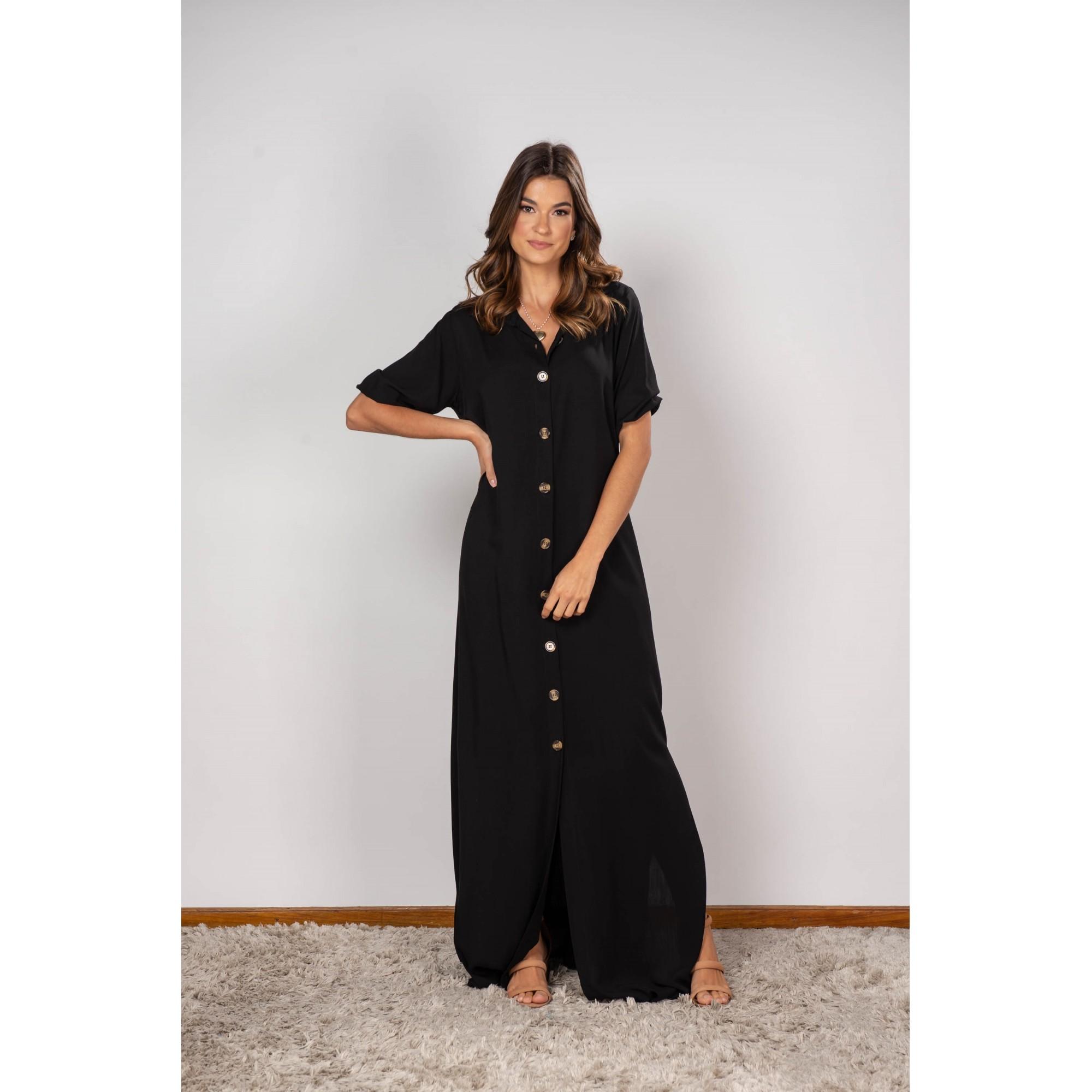 Vestido Isabela Preto