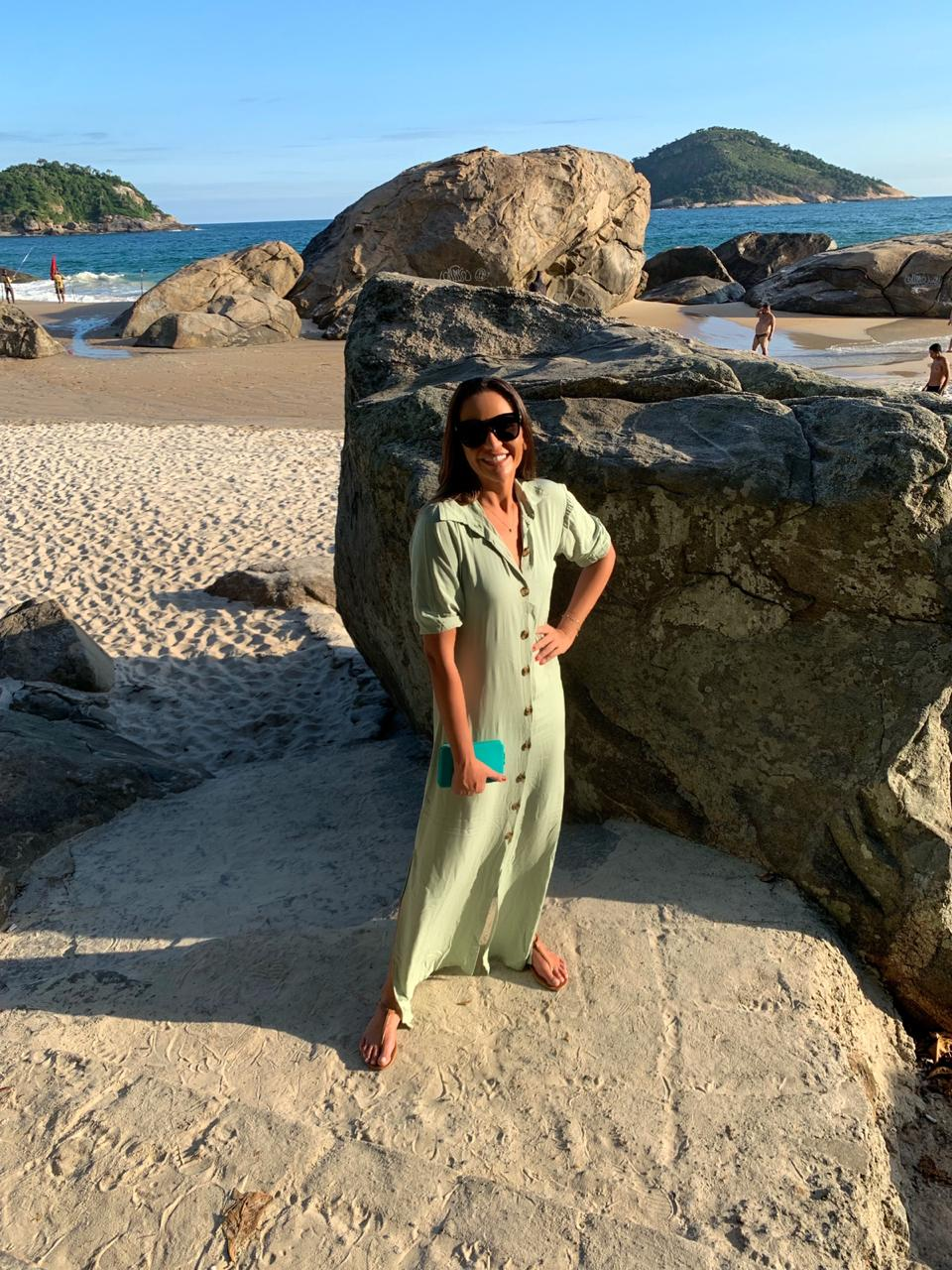 Vestido Isabela Verde Oliva