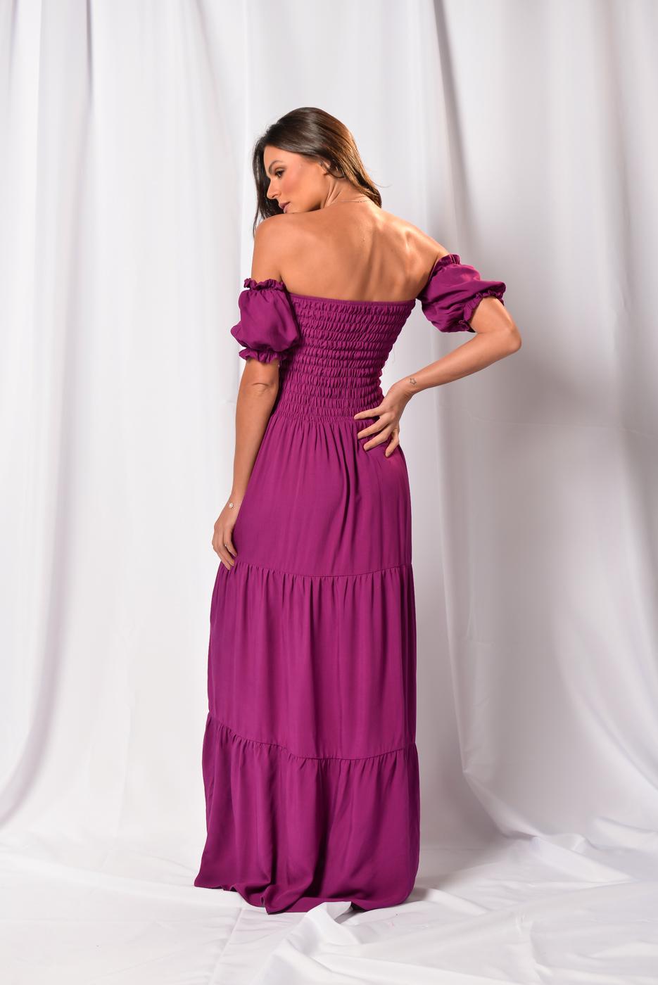 Vestido Lastex Lara
