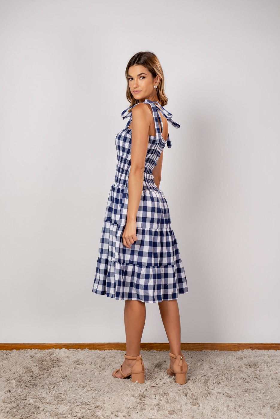 Vestido Ligia Azul