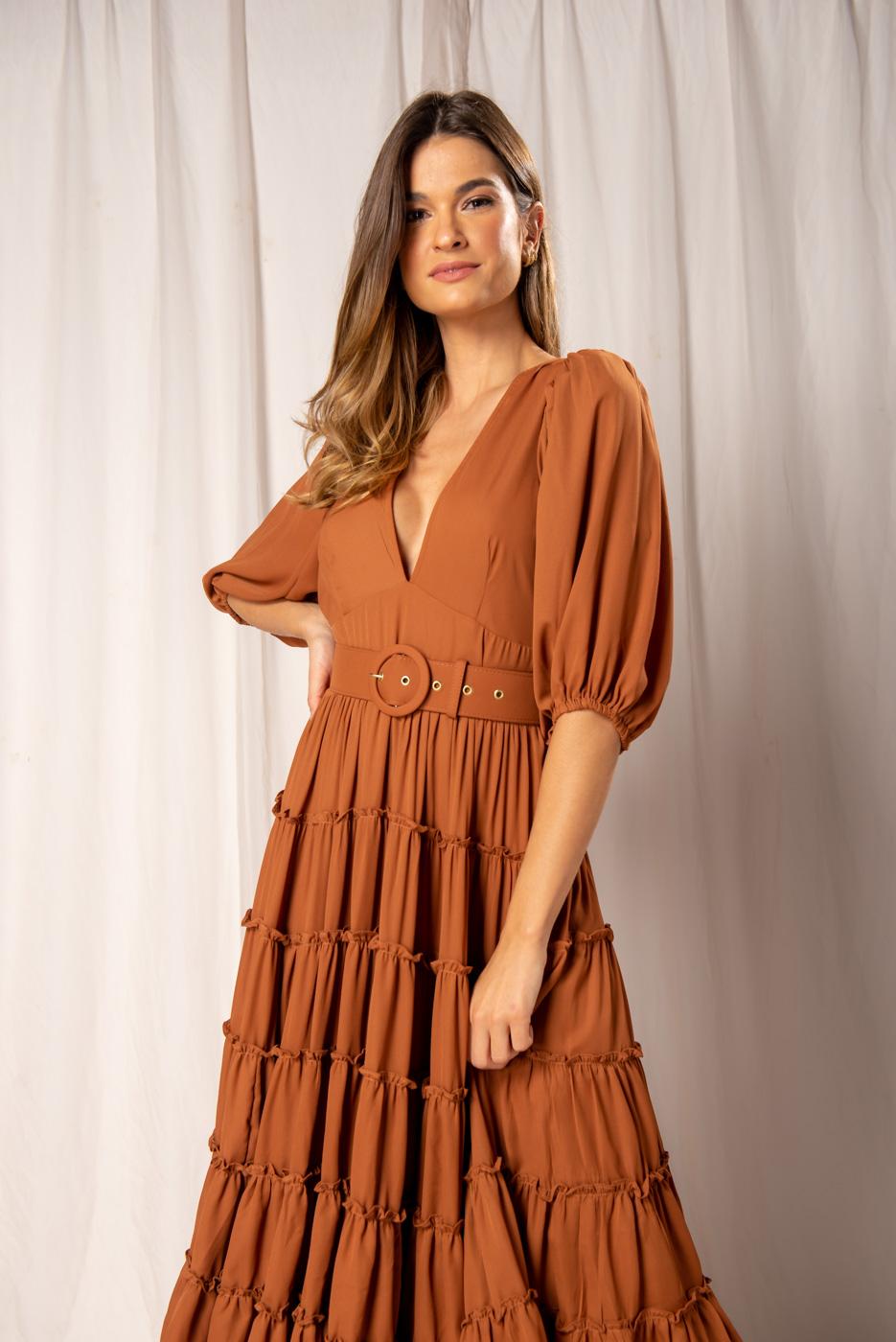 Vestido Longo Anabela