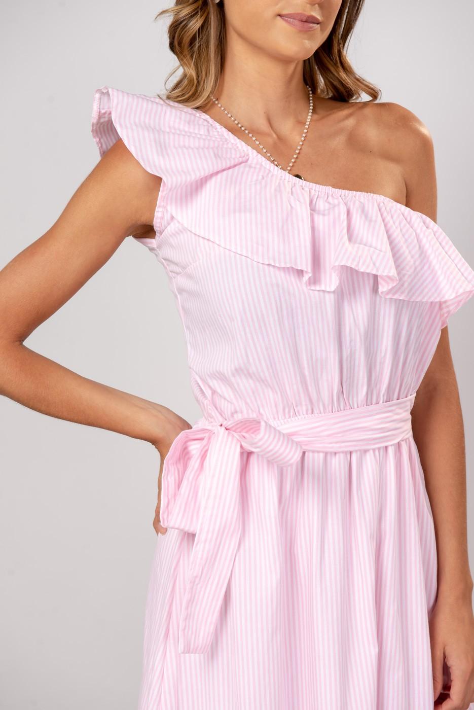 Vestido Nula Rosa Claro