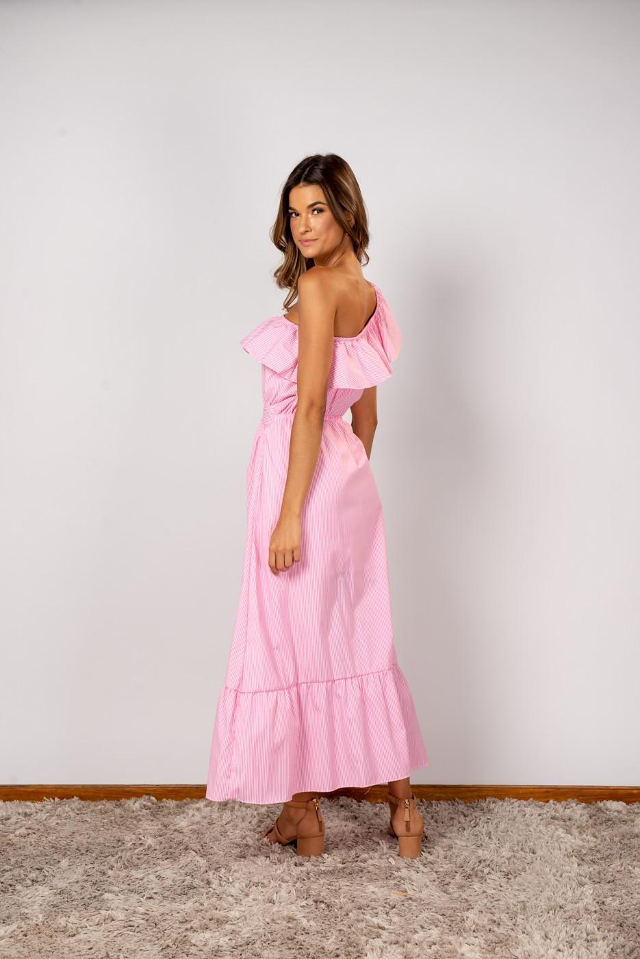Vestido Nula Rosa Neon