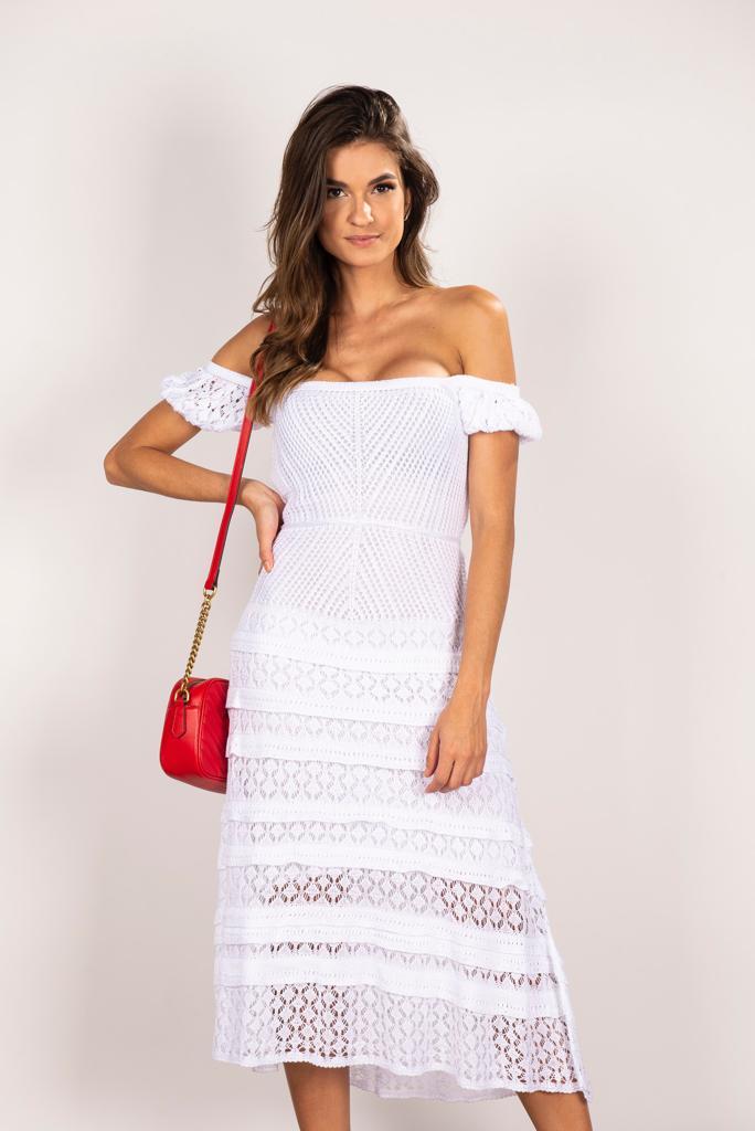 Vestido Raquel Branco
