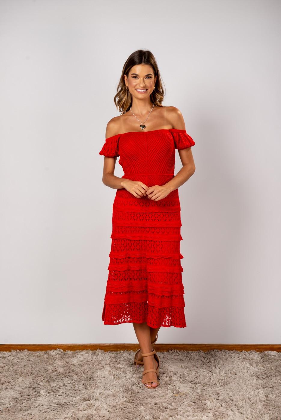 Vestido Raquel Coral