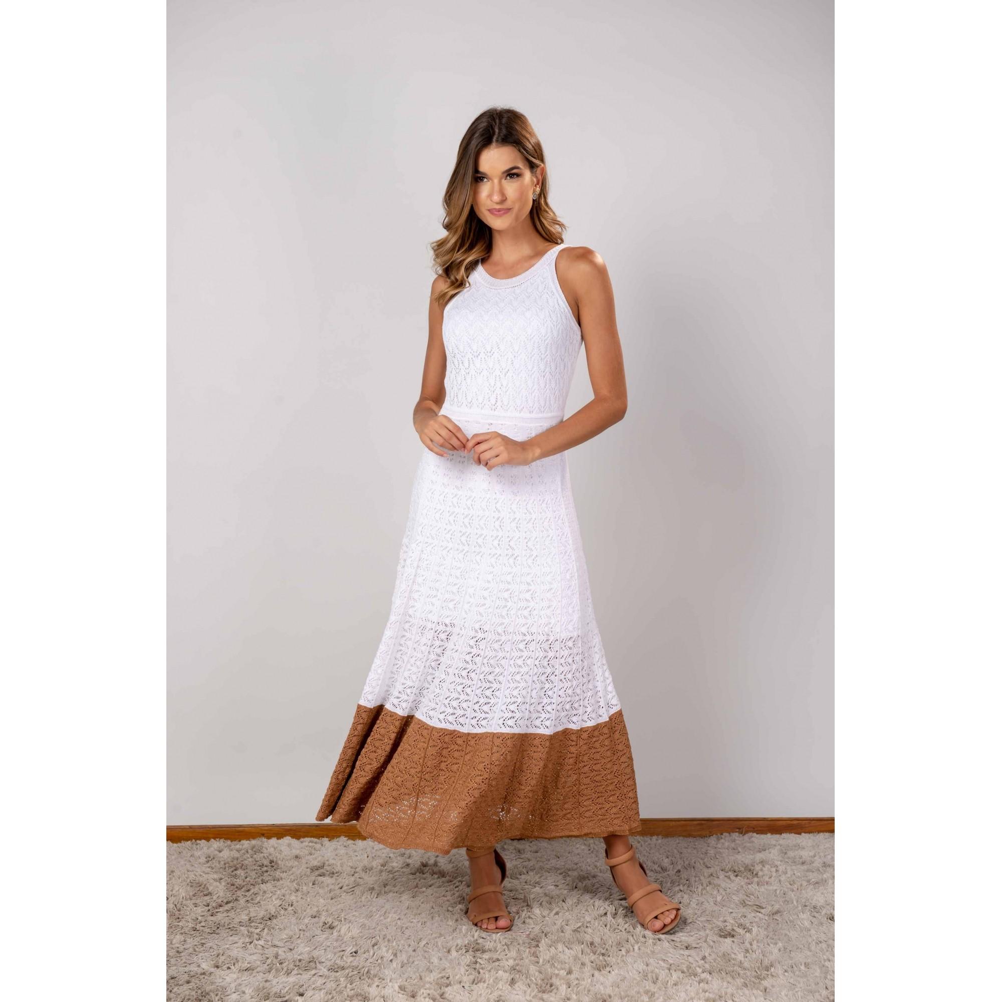 Vestido Sabrina Off White