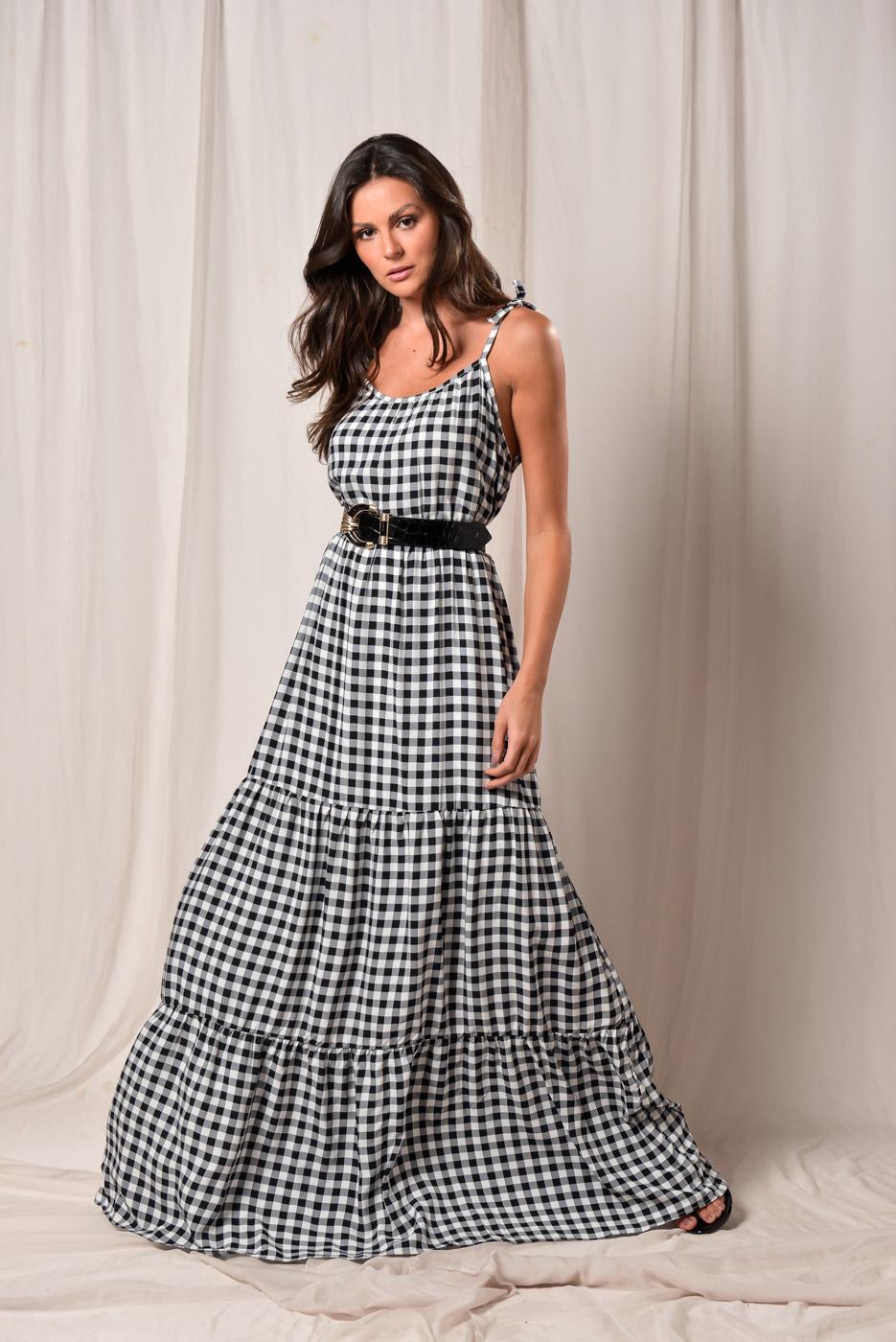 Vestido Xadrez Herminia