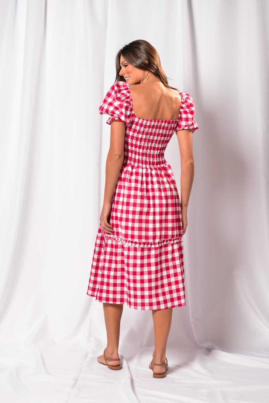 Vestido Xadrez Karen