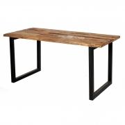 Mesa de jantar detonada pé ferro