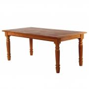 Mesa de jantar pé torneado