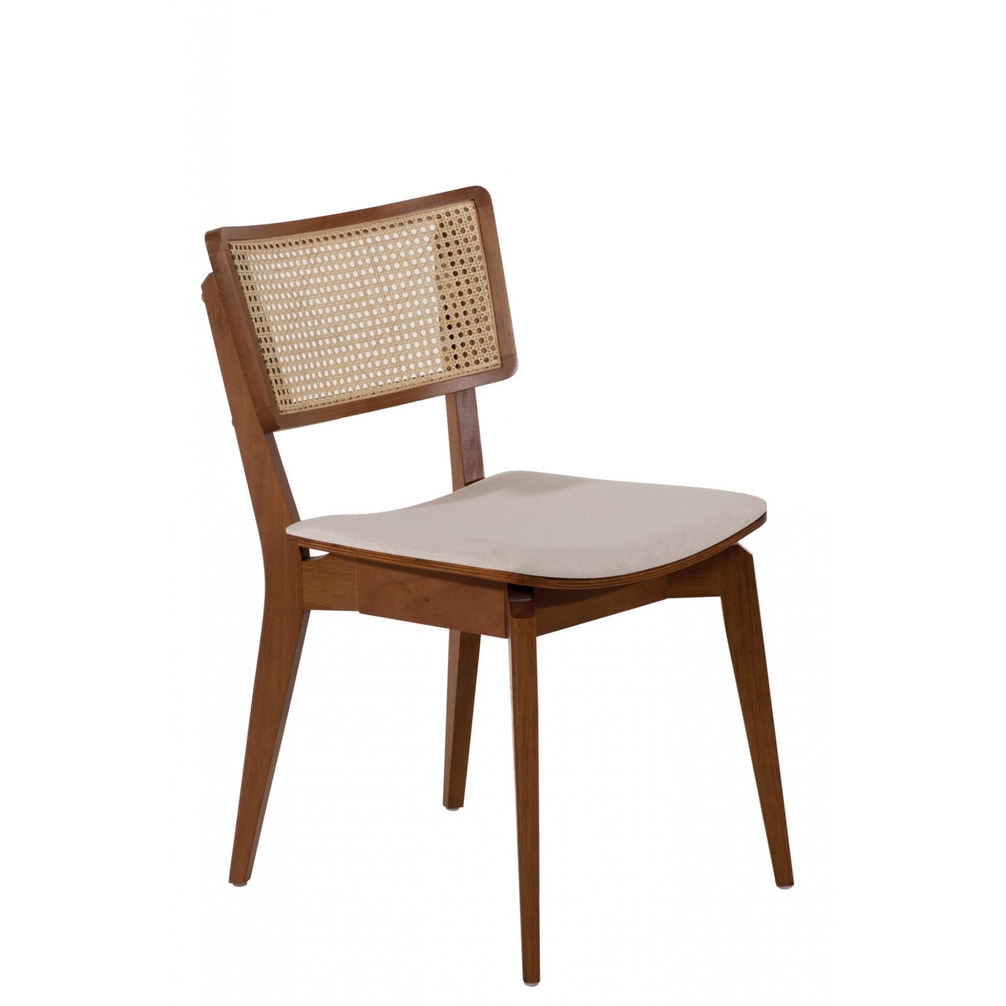 Cadeira encosto palhinha