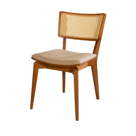 Cadeira encosto palhinha turim