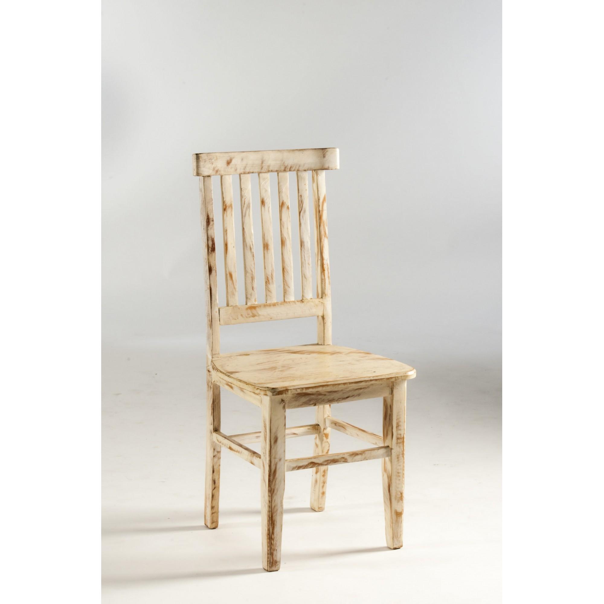Cadeira estação patinada
