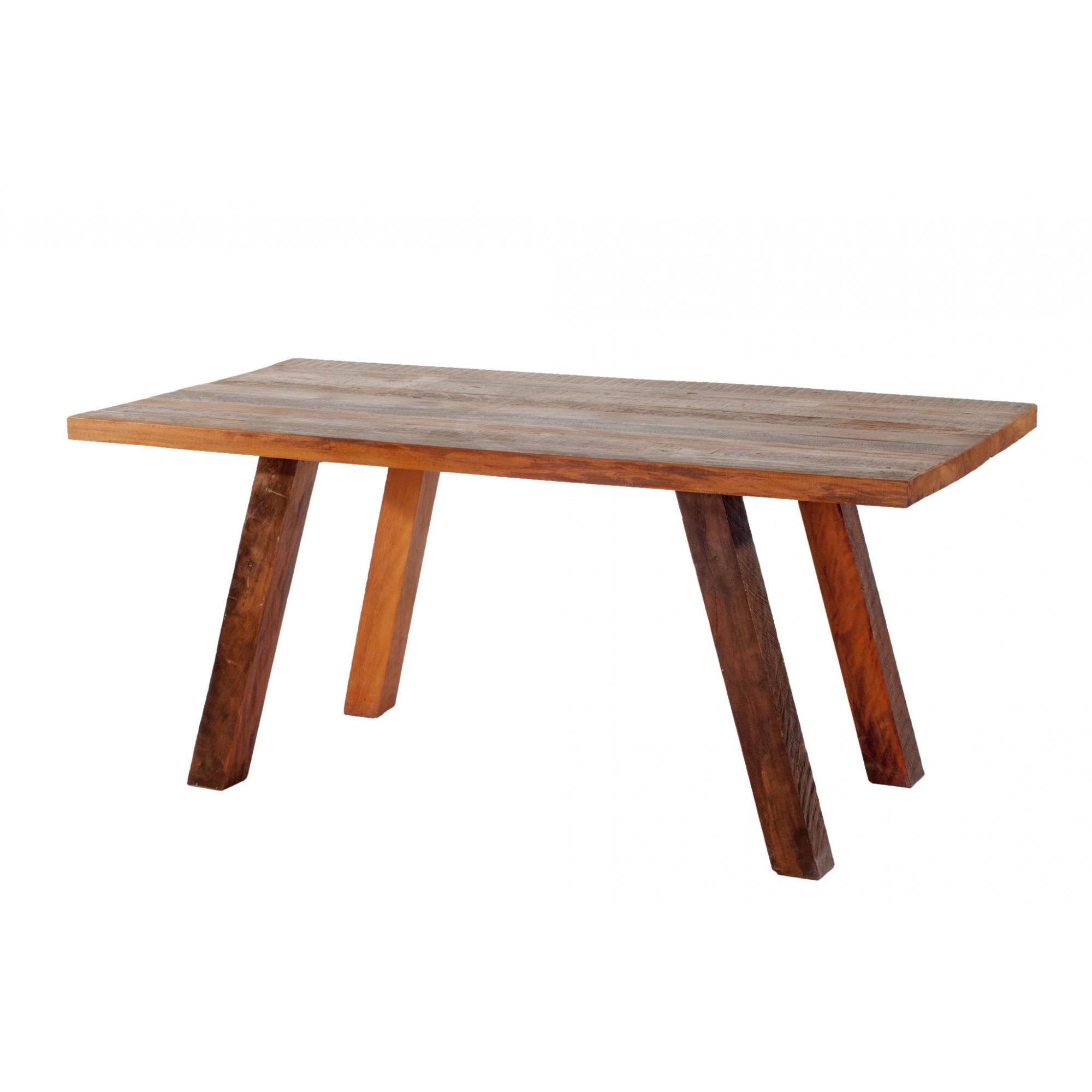Mesa de jantar perna aberta