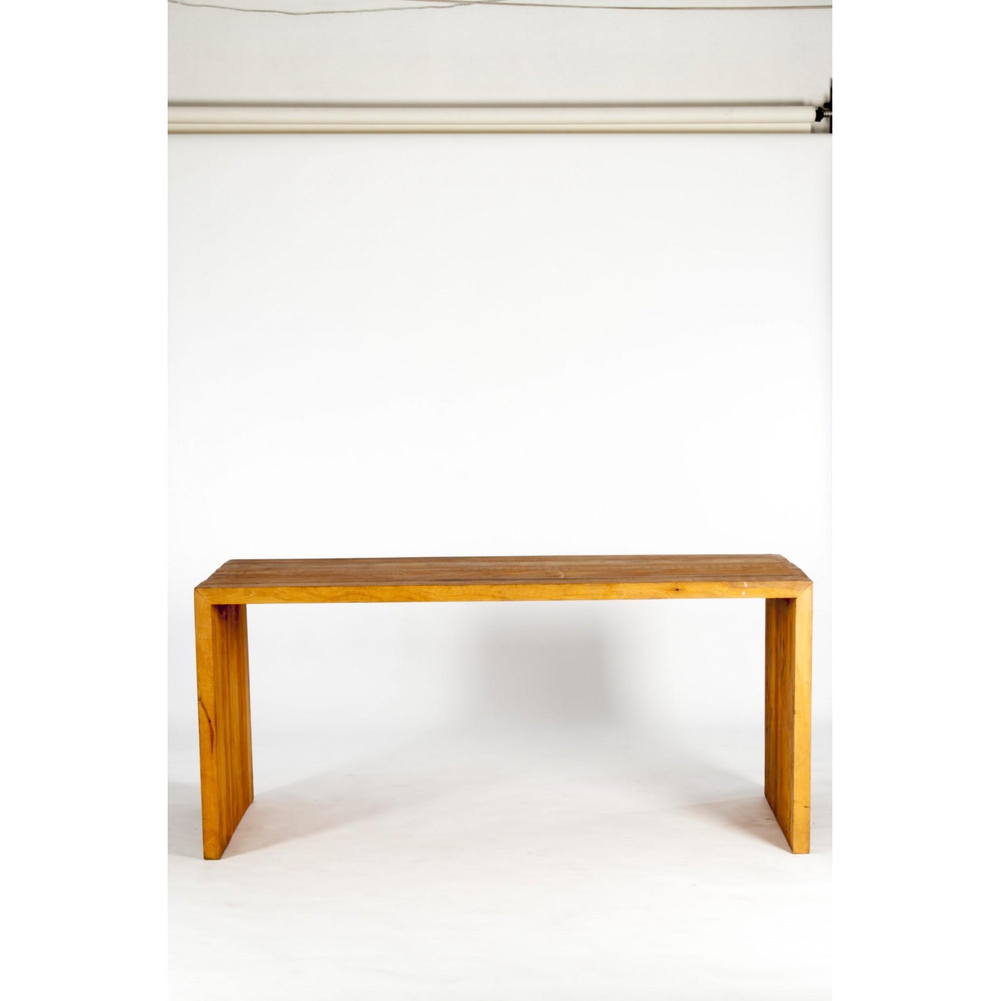 Mesa de jantar viga em meia esquadria