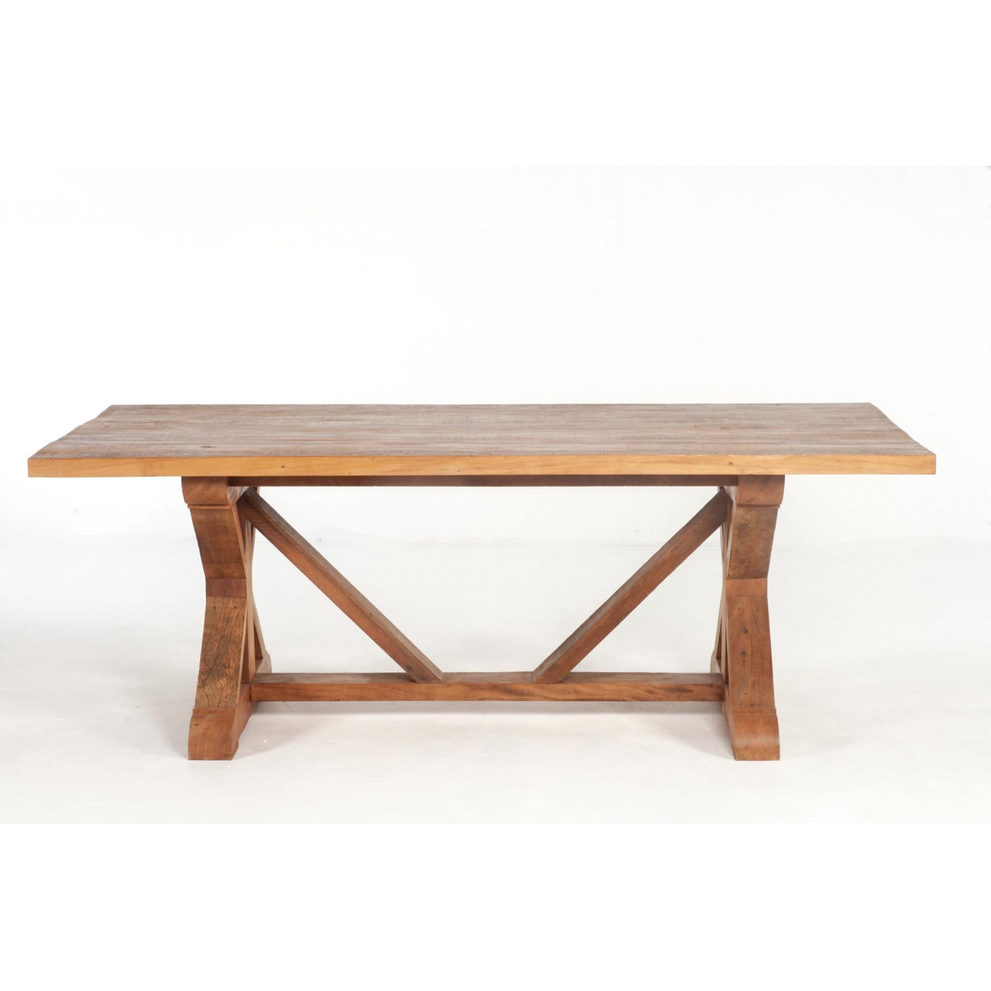 Mesa de jantar viga porteira