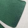 Almofada Rust Aplique Folha Verde