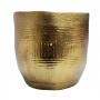 Cachepot Cerâmica Dourado