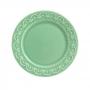 Conjunto 6 Pratos Sobremesa Princess Verde