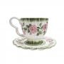 Conjunto 6 Xícara Chá Rosier