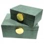 Conjunto Porta Joia Madeira Verde