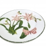 Conjunto Pratos Sobremesa Orquídea