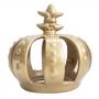Coroa Dourada Decorativa