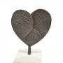 Escultura Mármore Coração