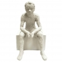 Escultura Pessoa Jovem Poliresina