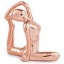 Escultura Yoga Rosê