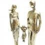 Família Decorativa Dourada