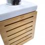 Kit Banheiro Bambu 3 Peças