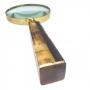 Lupa Metal Dourada