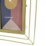 Porta Retrato Dourado Em Metal