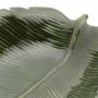 Prato Decorativo Cerâmica Banana Leaf Verde