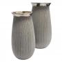 Vaso Decorativa Cinza