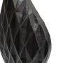 Vaso Preto Alumínio
