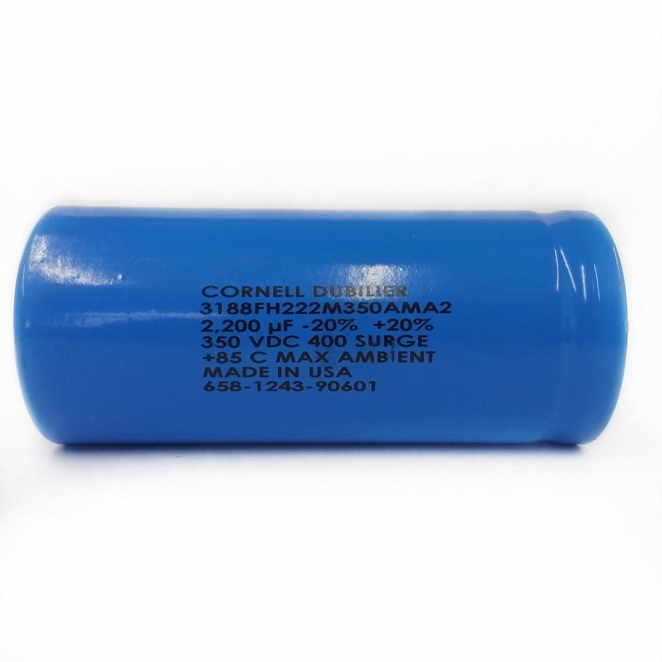 10 peças Capacitor Giga Cornell Dubilier USA 2200UF X 400V 85ºC 3188FH222M350AMA2